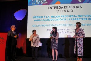 Premi a La Carretera del Vi a la millor proposta enoturística