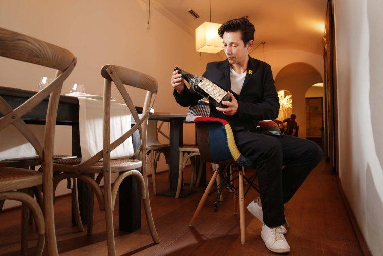 Agustí Lema ho té clar: El vi no s'ha d'entendre, ha d'agradar