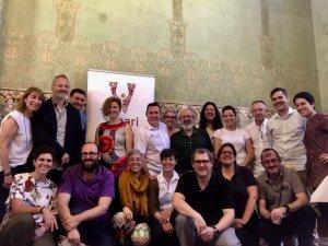 El panell de tast dels Premis Vinari del Vermut 2018