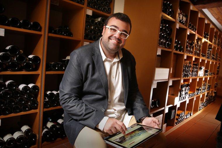 Daniel Ibáñez és sommelier i responsable d'e-commerce de Vila Viniteca