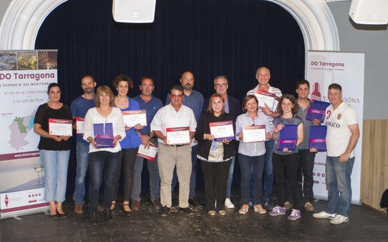 Guanyadors del concurs de vins de la DO Tarragona