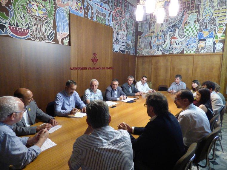 Reunió per posar en marxa 'Penedès Sostenible i Saludable'