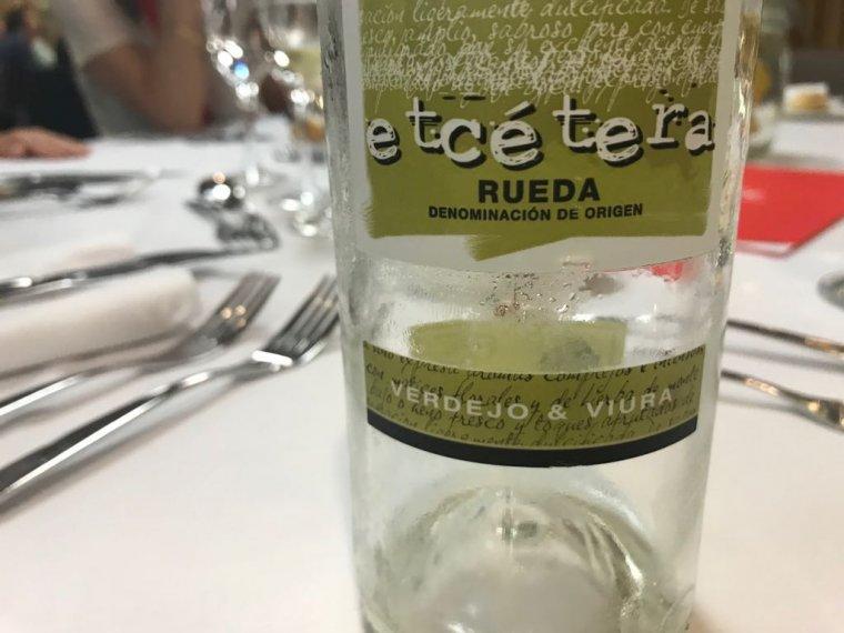 Ampolla de vi de Rueda