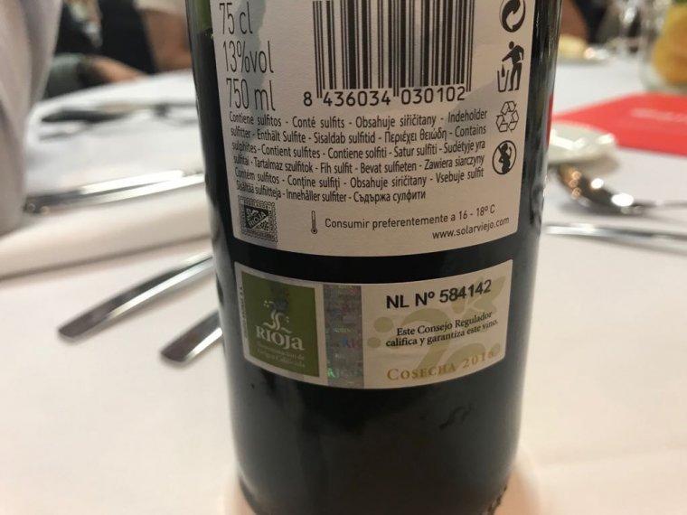 Ampolla de Rioja