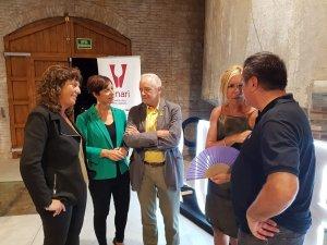Teresa Jordà, Eva Vicens, Salvador Puig, Ana María Martínez i Salvador Cot