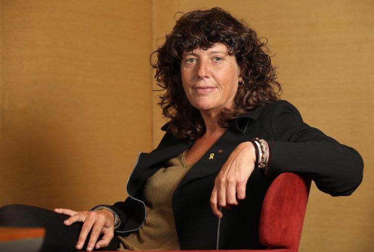 Teresa Jordà, és la responsable d'Agricultura del govern de Quim Torra