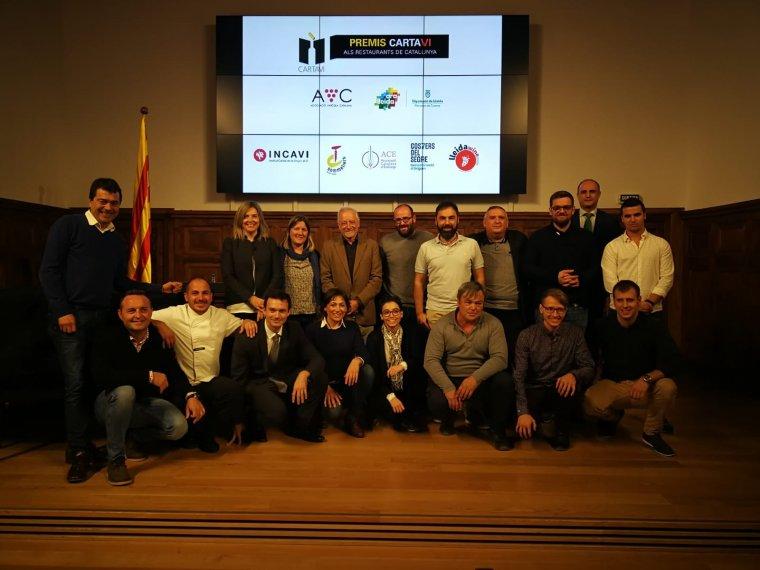 Els finalistes del concurs Cartaví de Lleida