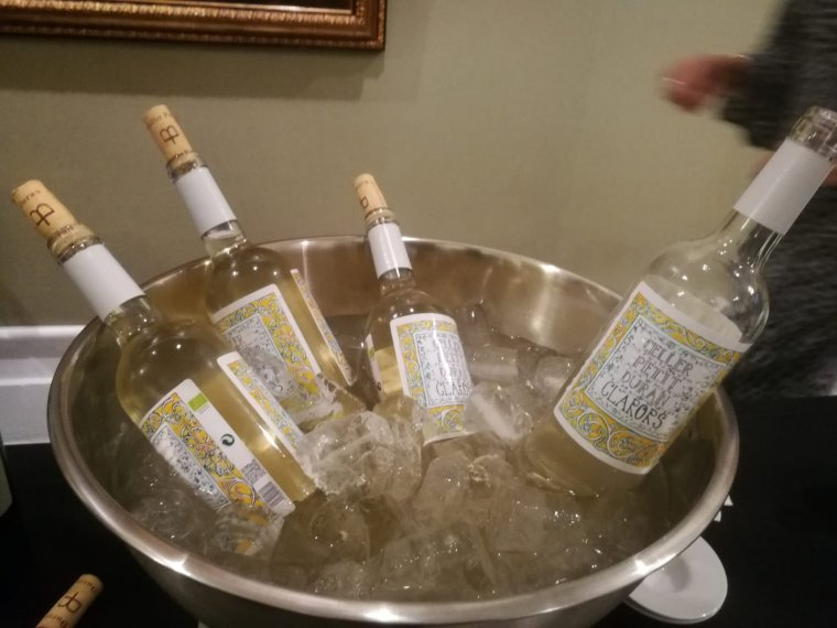 Els vins blancs del celler Petit Duran a la Nit del Gourmet