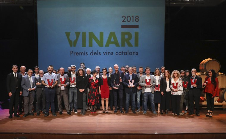 Tots els guanyadors dels Premis Vinari 2018