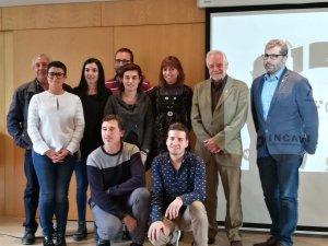 El jurat de Barcelona del concurs Cartaví 2018