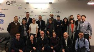 Els representants dels 16 clústers catalans que han viatjat a Nova York