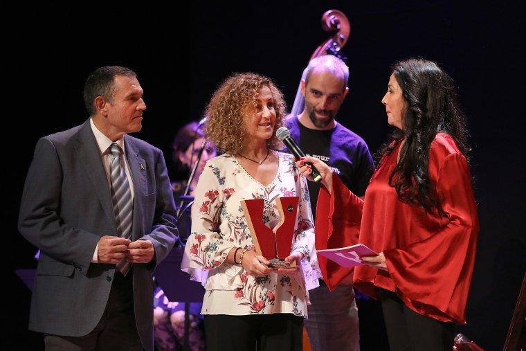 Carme Casacoberta recull el seu Vinari d'Or pel Gresa 2010