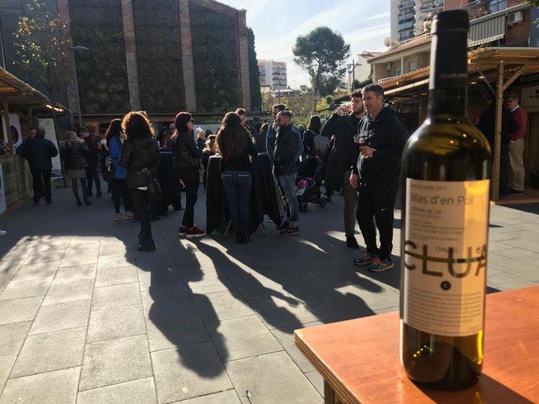 El vi Mas d'en Pol del Celler Xavi Clua a la Fira de Rubí
