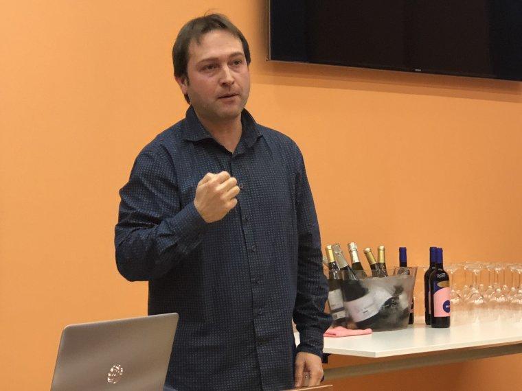 Joan Lluís Gómez ex sommelier del restaurant Sant Pau