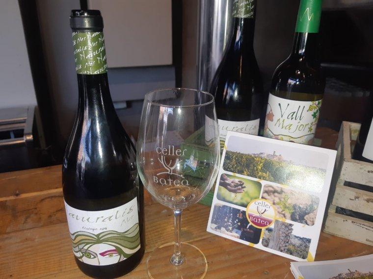 Naturalis Mer blanc és un dels vins ecològics i vegans que es van poder tastar al Celler Batea