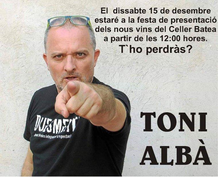 Toni Albà al Celler Batea