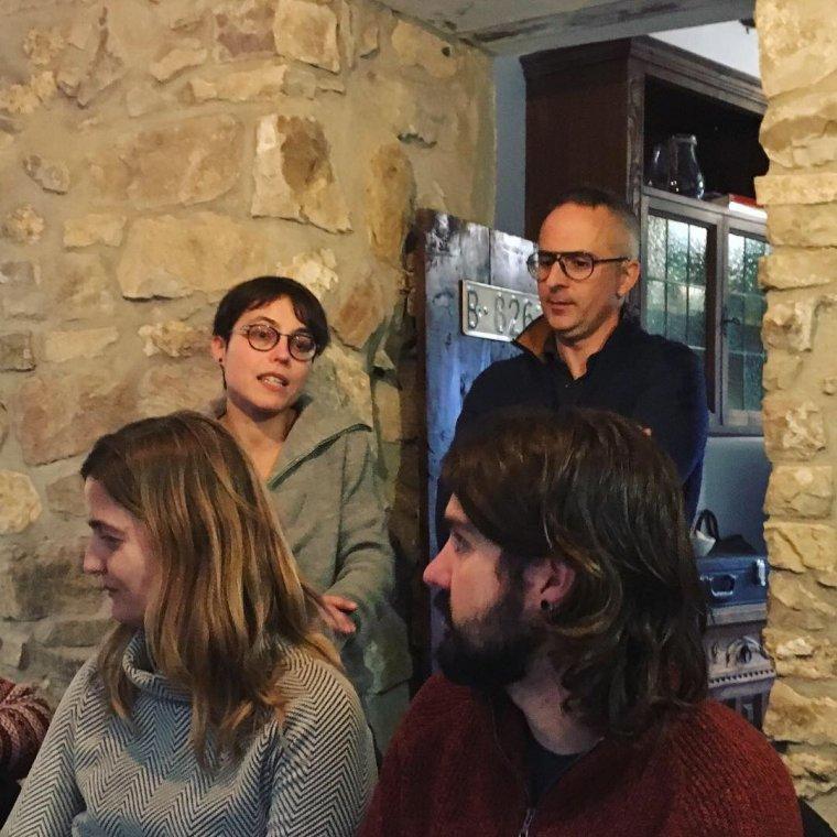 Els responsables del celler Terrers del Pallars