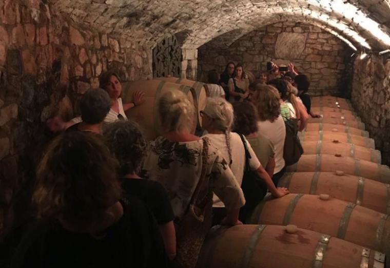 Visita al Celler Xavier Clua, a Vilalba dels Arcs. Foto: Associació Dones Rurals