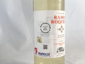 Una ampolla de Ramon Roqueta amb una etiqueta intel·ligent