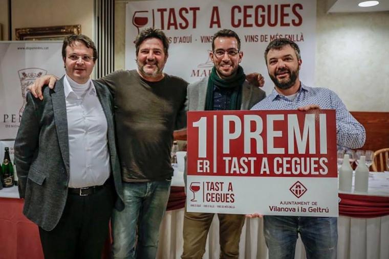 La parella guanyadora del Tast a Cegues del restaurant Marejol 2019