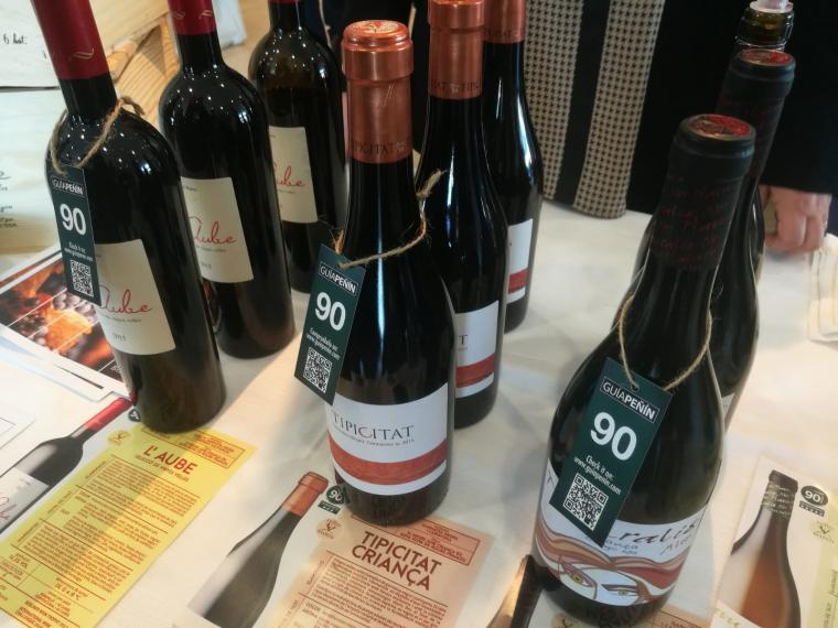 Els vins del Celler Batea al World Trade Center de Barcelona