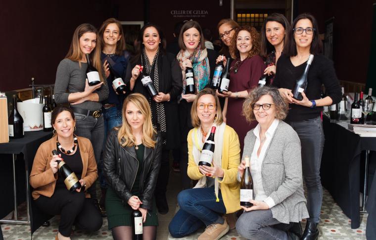 La 'Dones del vi' del Celler de Gelida
