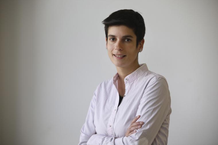 Nerea Rodríguez és la responsable de l'àrea de xarxes socials