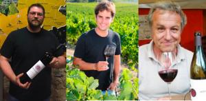 Bernat Andreu, Vicenç Ferré i Joan Huguet, nous president de les DOs Conca de Barberà, Tarragona i Penedès