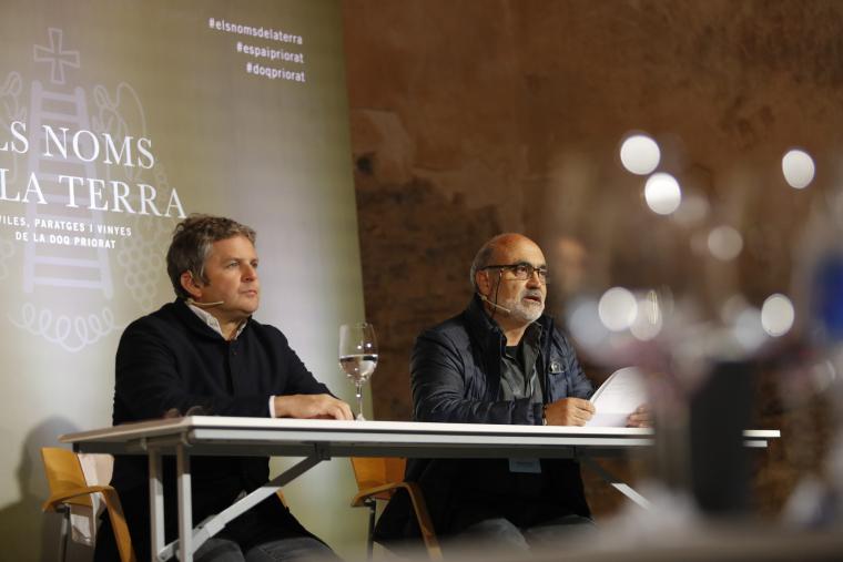 Álvaro Palacios i Sal·lustià Álvarez han presentat Els Noms de la Terra