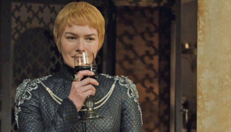 Cersei Lannister, com la majoria dels personatges és una gran amant del vi