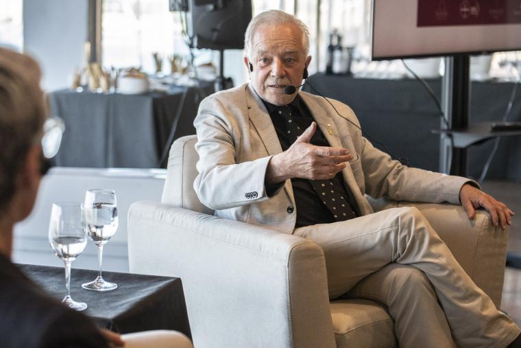 El director de l'INCAVI, Salvador Puig