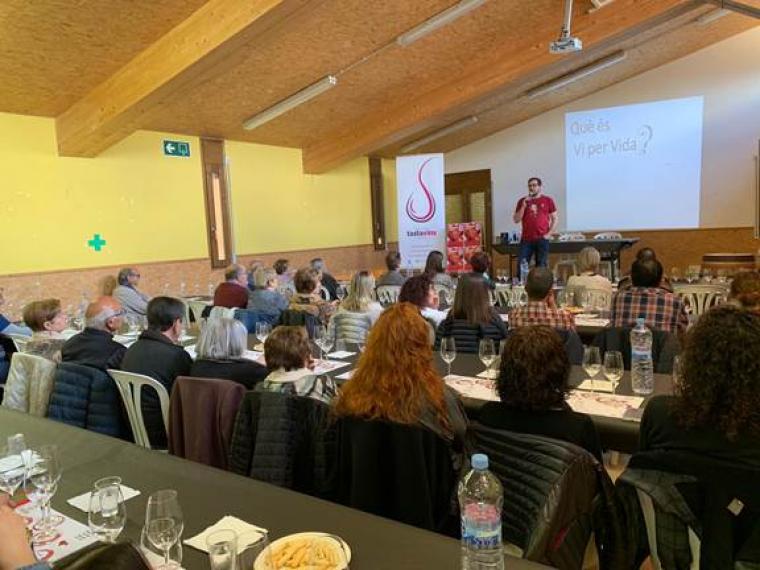 El tast de Vi per vida serà dia 12 de maig a Lleida