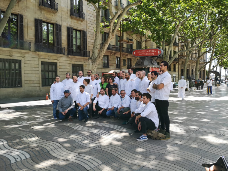 Els xefs de la quarentena de locals que participaran a la 6a edició del Tast a la Rambla