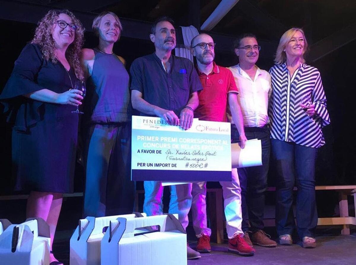 Els guanyadors de la tercera edició del Concurs de Realts Eròtics DO Penedès