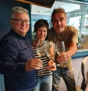 Ramon Francàs, Empar Moliner i Alex Torío condueixien el 'Tast Vertical' de Catalunya Ràdio