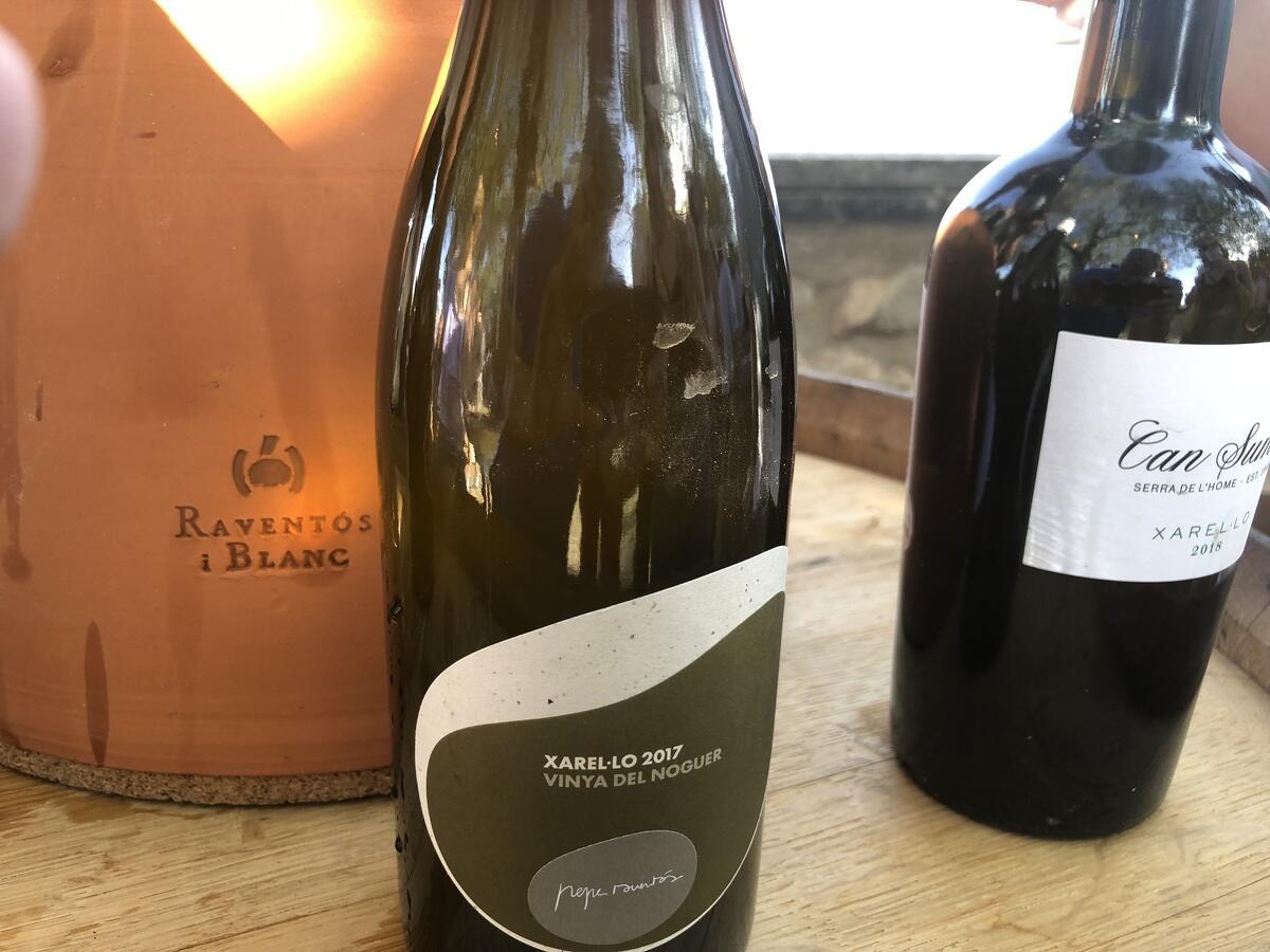 Un dels vins natural de Pepe Raventós de Raventós i Blanc