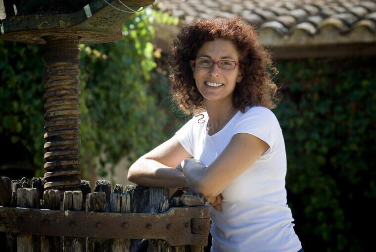 Isabel Vidal és una eles portaveu de la crisi del preu del raïm per cava