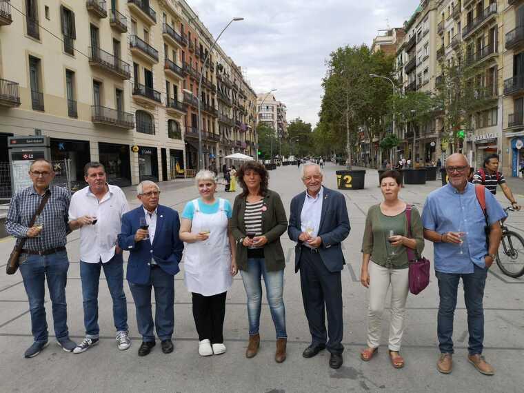 L'esplanada del mercat provisional de Sant Antoni acollirà la 39a Mostra de Vins i Caves
