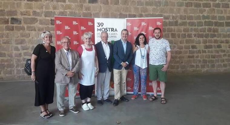 Xavi Ayala, impulsor de Vi per Vida, Salvador Puig, director general de l'INCAVI, Jaume Collboni, primer tinent d'alcalde de Barcelona i Silvia Beinaiges de l'IRB Barcelona.