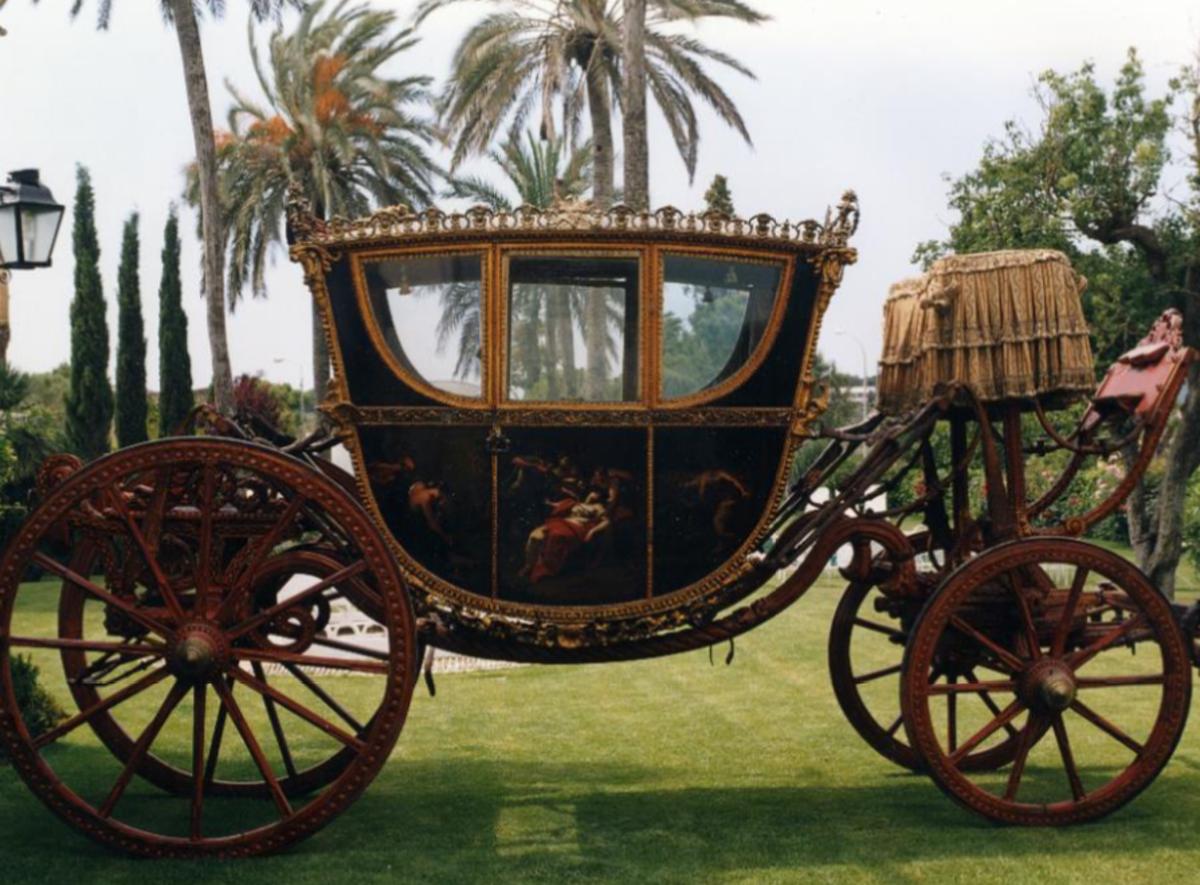 La carrossa de la Família Desvalls es mostrarà al públic per primer cop aquest dissabte