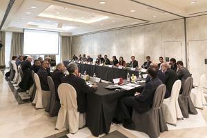 Primera reunió del Club CEOs del CEEV que s'ha fet a Barcelona