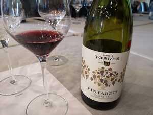Vinyaret de Torres està elaborat amb garnatxa, ull de llebre i sumoll