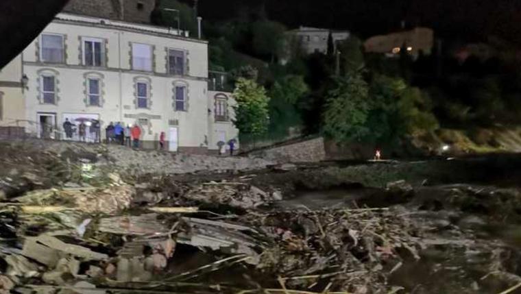 Així ha quedat el celler Rendé-Masdéu després del desbordament del riu Francolí