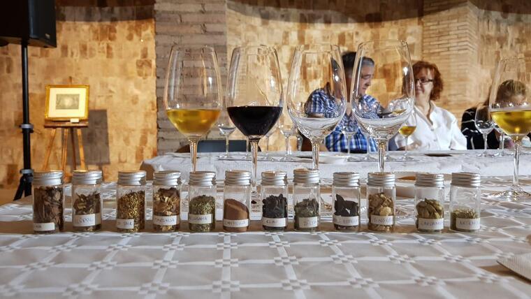 El tast de vermut dirigit per Ester Bachs proposava conèixer algunes del botànics amb que el fa aquest vi d'aperitiu