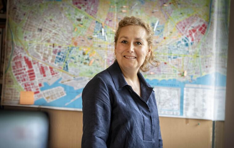 Elisenda Bonet és la directora del festival 48h Open House