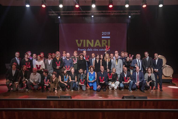 Tots els premiats amb un Or als Premis Vinari 2019
