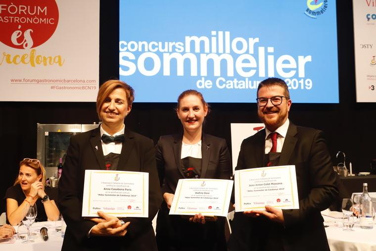 Anna Casabona, Audrey Doré i Ton Colet, finalistes del concurs