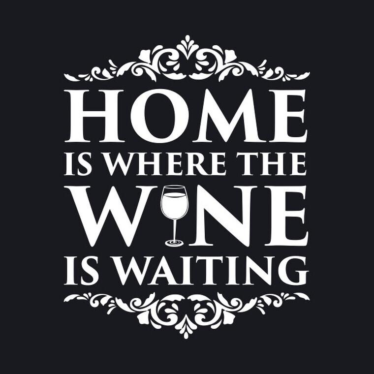 Casa teva és on el vi t'espera