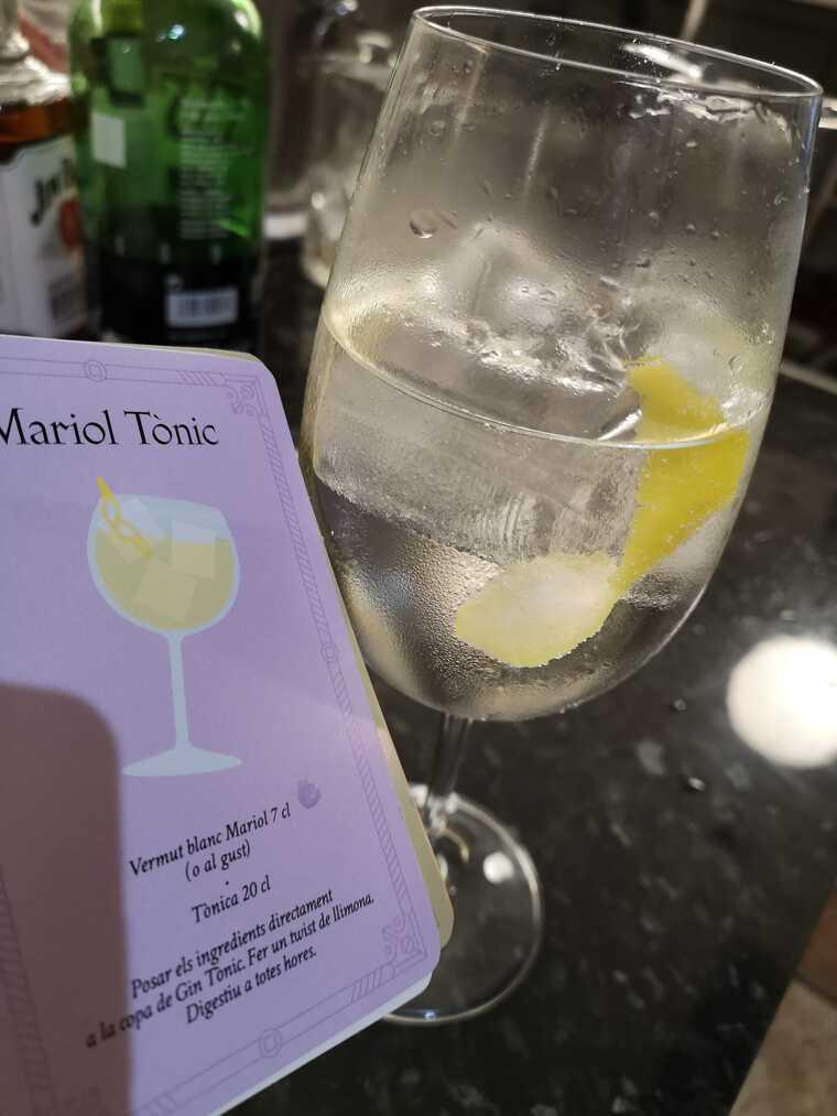 El Mariol Tònic, una proposta refrescant