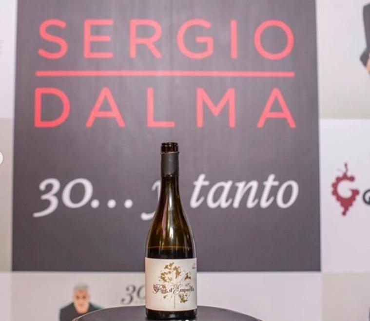 El vi Flor de l'Empordà va ser un dels protagonistes de la presentació del nou disc de Sergio Dalma